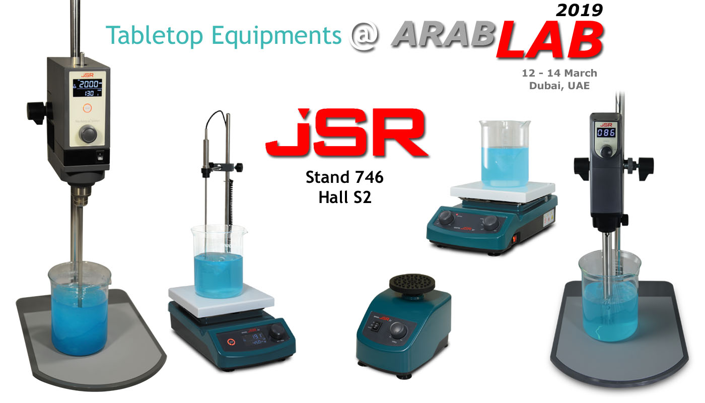 See Us @ Arab-Lab 2019 Stand #746